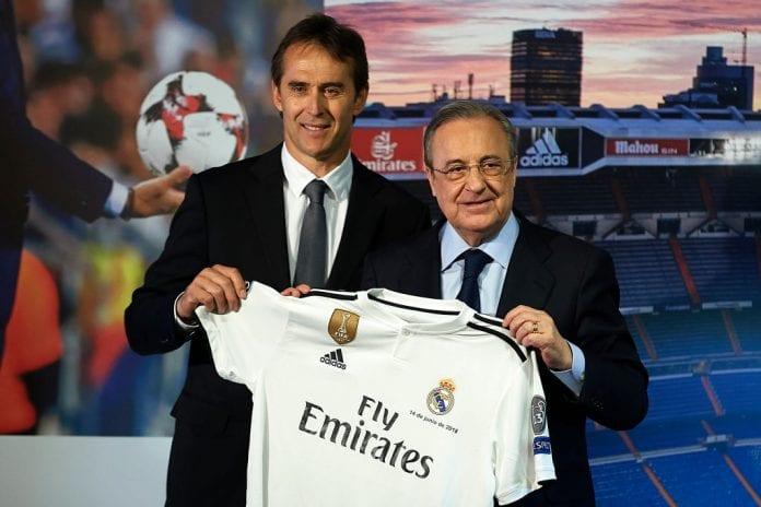 2f957ed2109 Spanish manager Julen Lopetegui begins a new chapter in his career coaching Real  Madrid