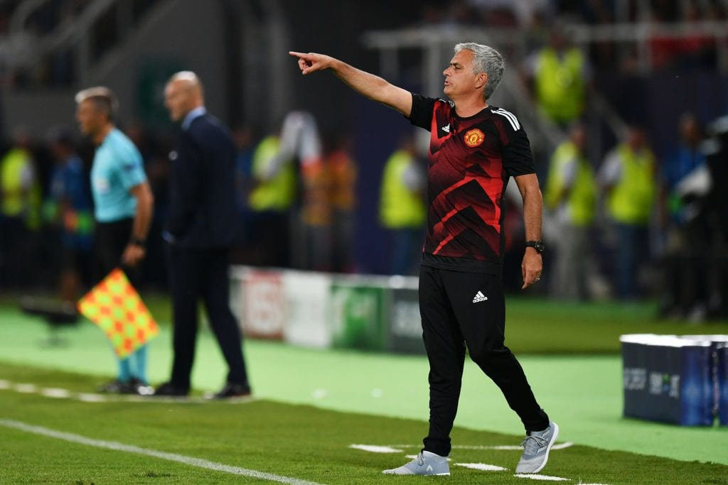 Jose Mourinho, Zinedine Zidane, Manchester United, Real Madrid
