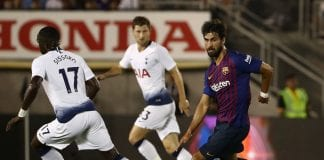 Andre Gomes. Photo by Getty Images.
