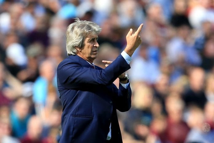 Manuel Pellegrini. Photo by Getty Images.