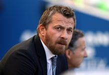 BRIGHTON, ENGLAND - SEPTEMBER 01: Slavisa Jokanovic, Manager of Fulham looks on prior to the Premier League match between Brighton & Hove Albion and Fulham FC at American Express Community Stadium on September 1, 2018 in Brighton, United Kingdom. (Photo by Bryn Lennon/Getty Images)