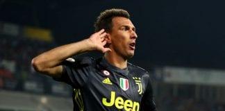 Juventus' Mario Mandzukic. Photo by Getty Images.