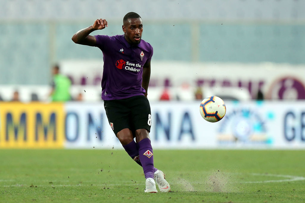 FLORENCE, ITALY - SEPTEMBER 02: Gerson of ACF Fiorentina in action during the serie A match between ACF Fiorentina and Udinese at Stadio Artemio Franchi on September 2, 2018 in Florence, Italy. (Photo by Gabriele Maltinti/Getty Images)