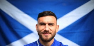 GLASGOW, SCOTLAND - SEPTEMBER 03: Robert Snodgrass is seen during a Scotland training session ahead of their International friendly match against Belgium at Orium Performance Centre on September 3, 2018 in Edinburgh, Scotland. (Photo by Ian MacNicol/Getty Images)