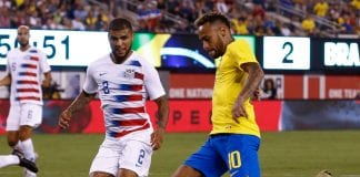 """Yedlin to USA-Brazil referee: """"Did you watch the World Cup?"""""""