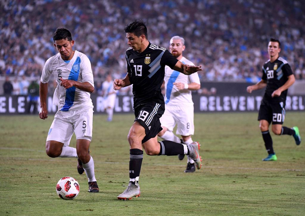 Giovanni Simeone scores debut goal for Argentina