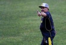 Dorados de Sinaloa Unveils New Coach Diego Armando Maradona