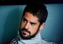 BILBAO, SPAIN - SEPTEMBER 15: Isco Alarcon of Real Madrid looks on prior to the start the La Liga match between Athletic Club Bilbao and Real Madrid at San Mames Stadium on September 15, 2018 in Bilbao, Spain. (Photo by Juan Manuel Serrano Arce/Getty Images)