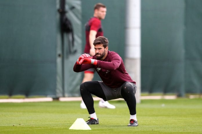 ec6871e59fa Liverpool goalkeeper Alisson Becker has revealed he spoke to former  Liverpool playmaker