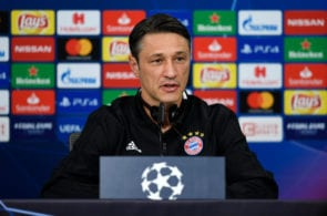 Bayern Muenchen Training And Press Conference - UEFA Champions League