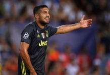 VALENCIA, SPAIN - SEPTEMBER 19: Emre Can of Juventus reacts during the Group H match of the UEFA Champions League between Valencia and Juventus at Estadio Mestalla on September 19, 2018 in Valencia, Spain. (Photo by Manuel Queimadelos Alonso/Getty Images)