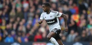 LONDON, ENGLAND - SEPTEMBER 22: Ryan Sessegnon of Fulham in action during the Premier League match between Fulham FC and Watford FC at Craven Cottage on September 22, 2018 in London, United Kingdom. (Photo by Steve Bardens/Getty Images)