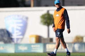 EMPOLI, ITALY - SEPTEMBER 25: Aurelio Andreazzoli manager of Empoli FC during training session on September 25, 2018 in Empoli, Italy. (Photo by Gabriele Maltinti/Getty Images)