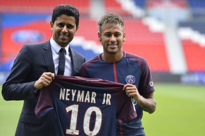 huge selection of c189e f129f PSG president fuming over Neymar-Real Madrid links - Ronaldo.com