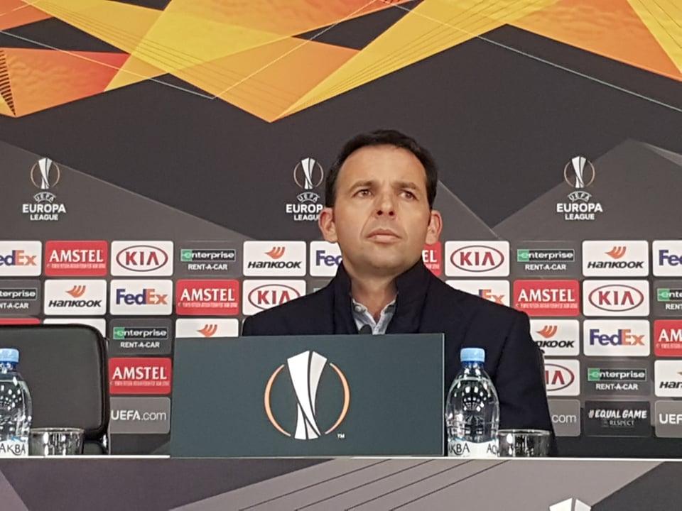 Villarreal manager Javier Calleja. Photo by Manuel R. Medina / Ronaldo.com
