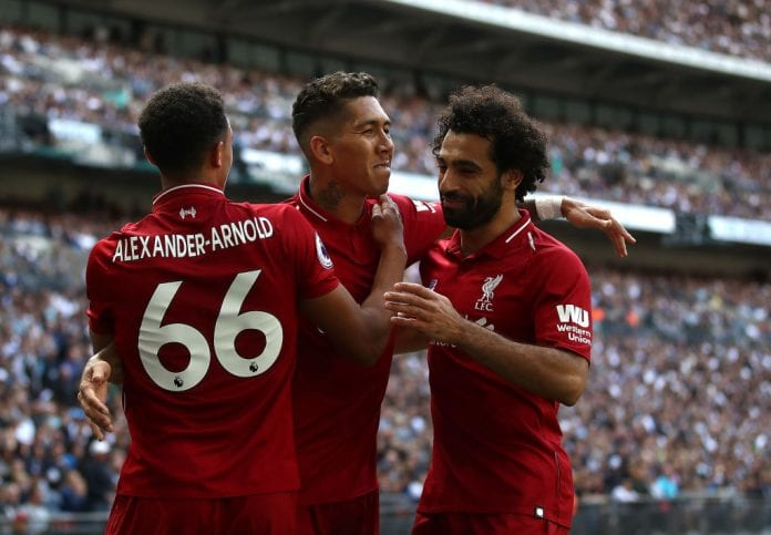 sale retailer 515a8 ce71b Alexander-Arnold: Salah still influential for Liverpool ...