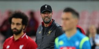 NAPLES, ITALY - OCTOBER 03: Jurgen Klopp manager of Liverpool during the Group C match of the UEFA Champions League between SSC Napoli and Liverpool at Stadio San Paolo on October 3, 2018 in Naples, Italy. (Photo by Catherine Ivill/Getty Images)