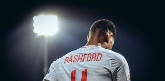 RIJEKA, CROATIA - OCTOBER 12: Marcus Rashford of England looks on during the UEFA Nations League A group four match between Croatia and England at on October 12, 2018 in Rijeka, Croatia. (Photo by Michael Regan/Getty Images)