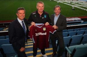 Aston Villa Unveil New Management Team