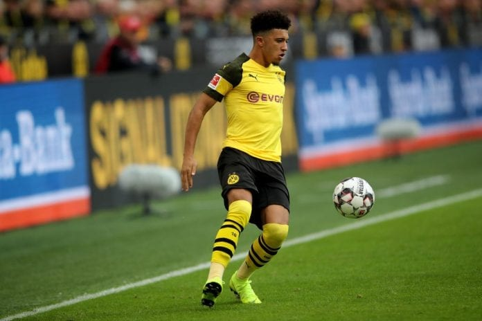7cd208c74f134 Borussia Dortmund sporting director Michael Zorc reckons that Jadon Sancho  won t be leaving anytime soon