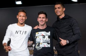 Neymar, Lionel Messi, Cristiano Ronaldo