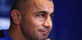 Qarabag FK Training and Press Conference