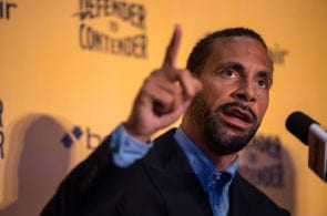 Rio Ferdinand Press Conference London