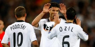 Germany v Azerbaijan - FIFA2010 World Cup Qualifier