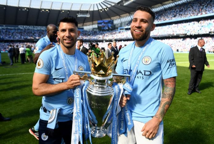 Image result for nicolas otamendi premier league title