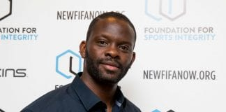 LONDON, ENGLAND - MAY 31: Louis Saha attends The Foundation For Sports Integrity (FFSI) inaugural 'Sports, Politics and Integrity Conference' at Four Seasons Hotel on May 31, 2018 in London, England. (Photo by Tristan Fewings/Getty Images for Foundation For Sports Integrity)