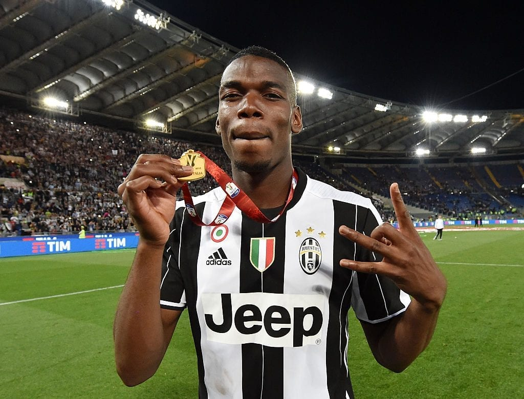 Paul Pogba made a name for himself at Juventus