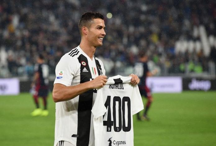 90a0eb99450 Ronaldo gets pampered by the Juventus president - Ronaldo.com