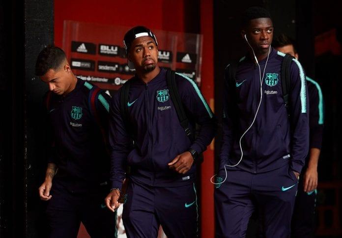 Malcom Barcelona Players Support Dembele Ronaldo Com