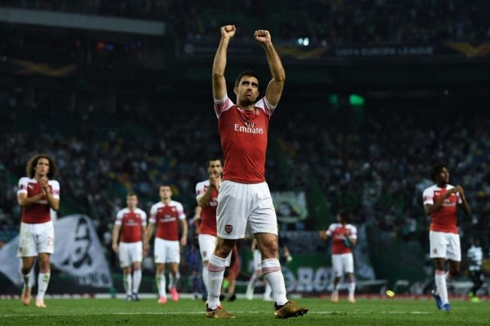 ac54c9abe6d Arsenal defender Sokratis Papastathopoulos insists there is more to come  from them