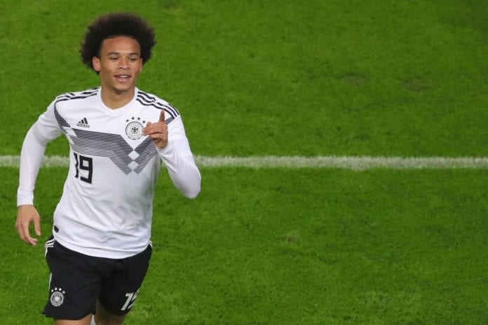 273c4a7b94c Manchester City Leroy Sane delighted with return to starting lineup