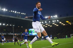 Everton FC v Cardiff City - Premier League Sigurdsson