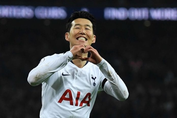 Image result for heung min son