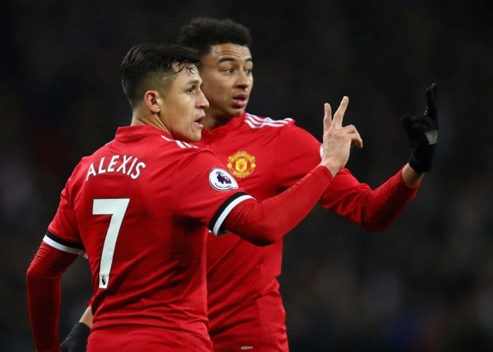 Image result for sanchez and lingard