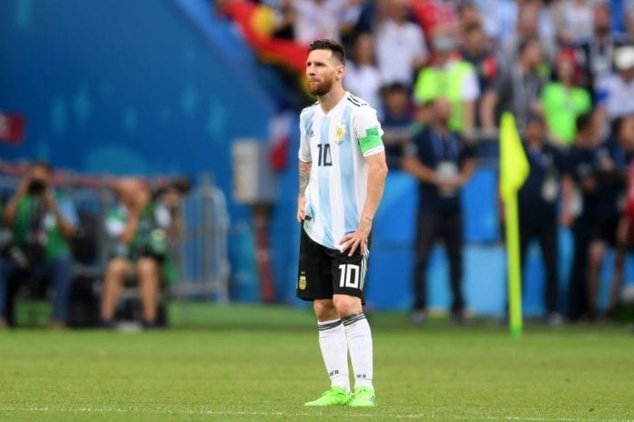 competitive price 87d97 bfd01 AFA president: Messi still not over World Cup disappointment ...