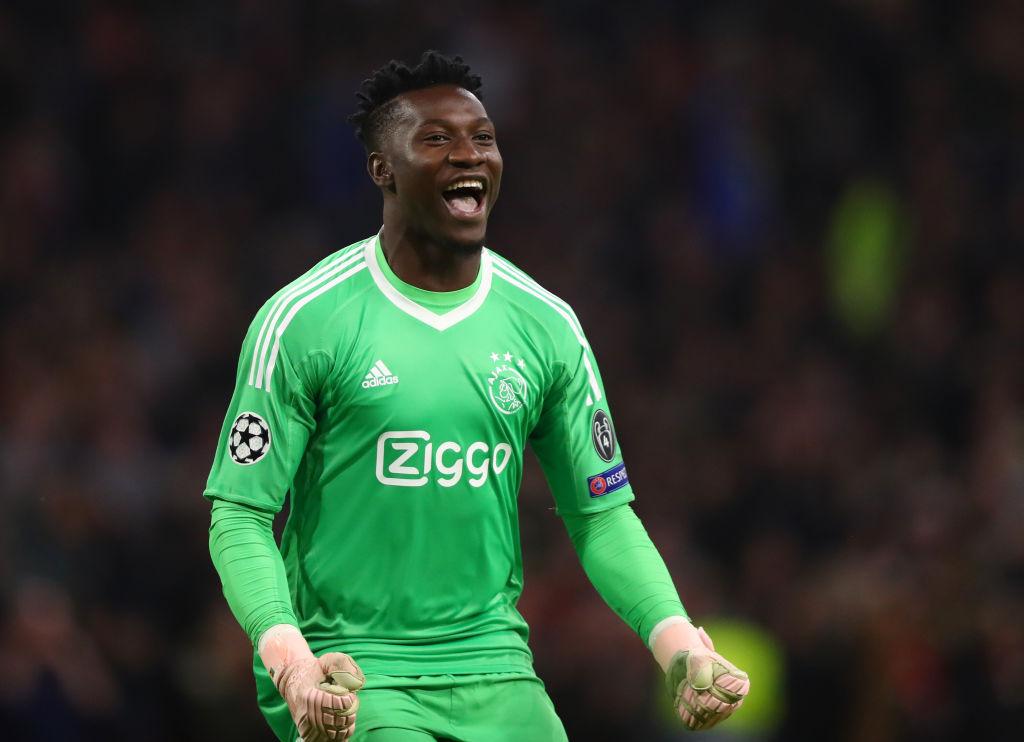Ajax goalkeeper Andre Onana hopes De Ligt joins Barcelona