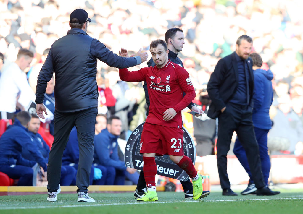 Crouch Jurgen Klopp Doesn T Trust Gifted Xherdan Shaqiri Ronaldo Com