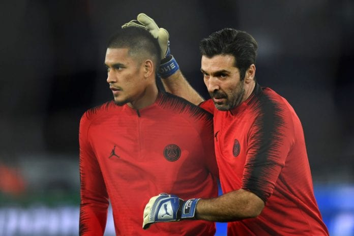 new arrival b51d6 5abe5 Buffon talks about splitting time in PSG goal with Areola ...