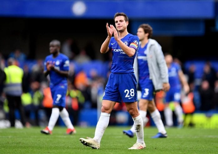 huge discount 17567 0a89e Official: Cesar Azpilicueta signs new four-year deal at ...
