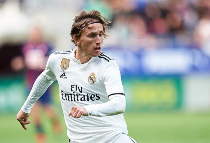 f69f7ff3c92 The Real Madrid manager believes the Croatian superstar Luka Modric is  enjoying the best year of his professional life