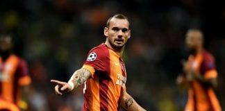Sneijder, Galatasaray