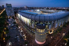 European finals played at Santiago Bernabeu