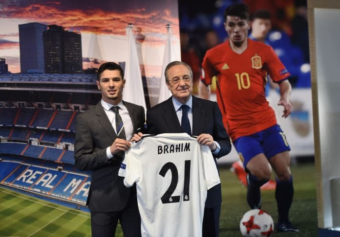 newest 41d14 01946 Florentino Perez's message to Brahim Diaz at Real Madrid ...
