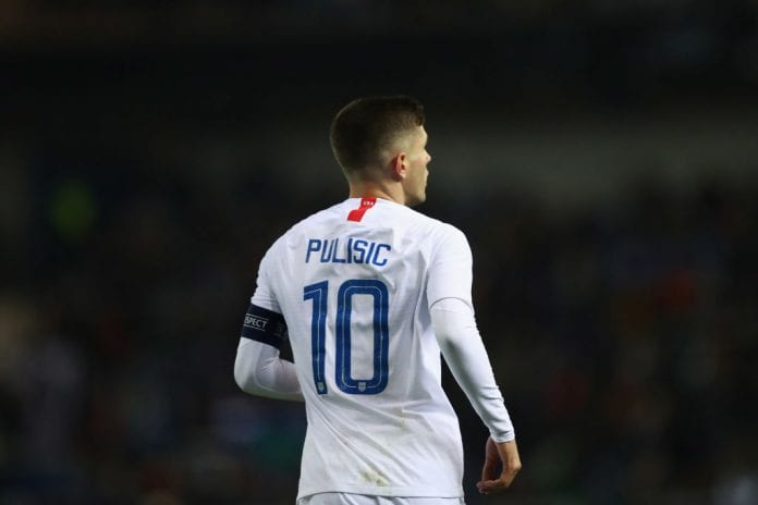 a930f91868b US coach  Pulisic is an example for young American players - Ronaldo.com