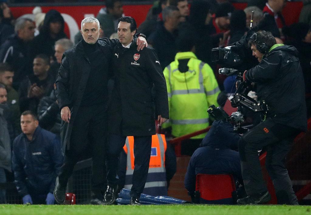 Jose Mourinho, Unai Emery