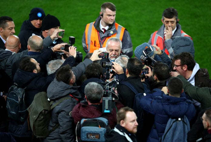 SSC Napoli Training and Press Conference